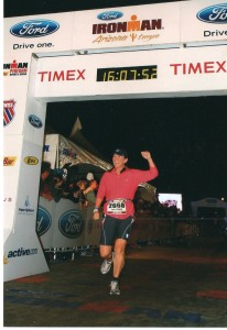 Annemarie du LeBohn Ironman AZ finisher