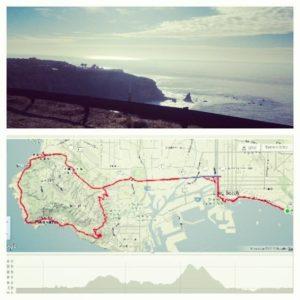 50 mile ride from LGB - PV loop