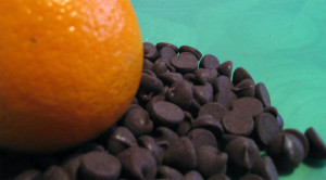 Oranges and chocolate