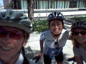Annemarie, Dianne & TJ enjoying the L.A. Fun Ride