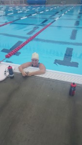 Annemarie swims 4,000 meters