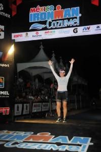 Annemarie du LeBohn, Ironman Cozumel finisher