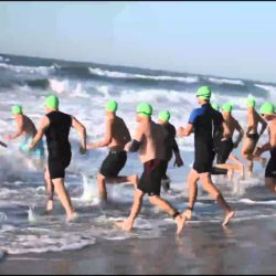 Wounded Warriors conquer triathlon