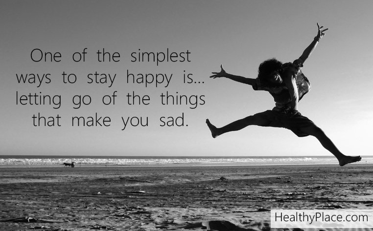 let go be happy